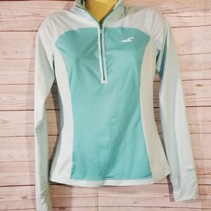 Hollister Co Turquoise Sports Pull Over